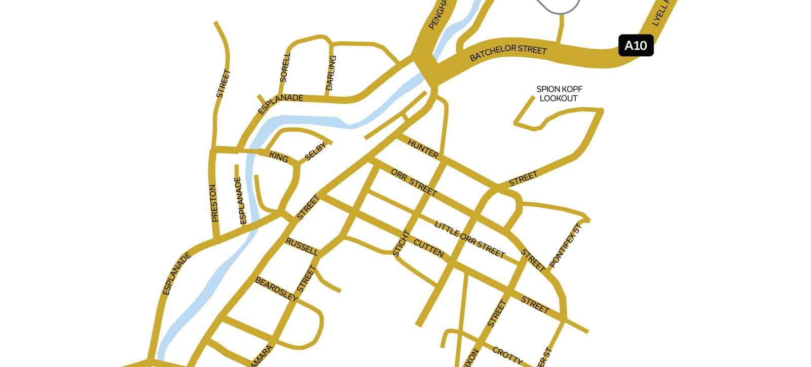 Queenstown Map