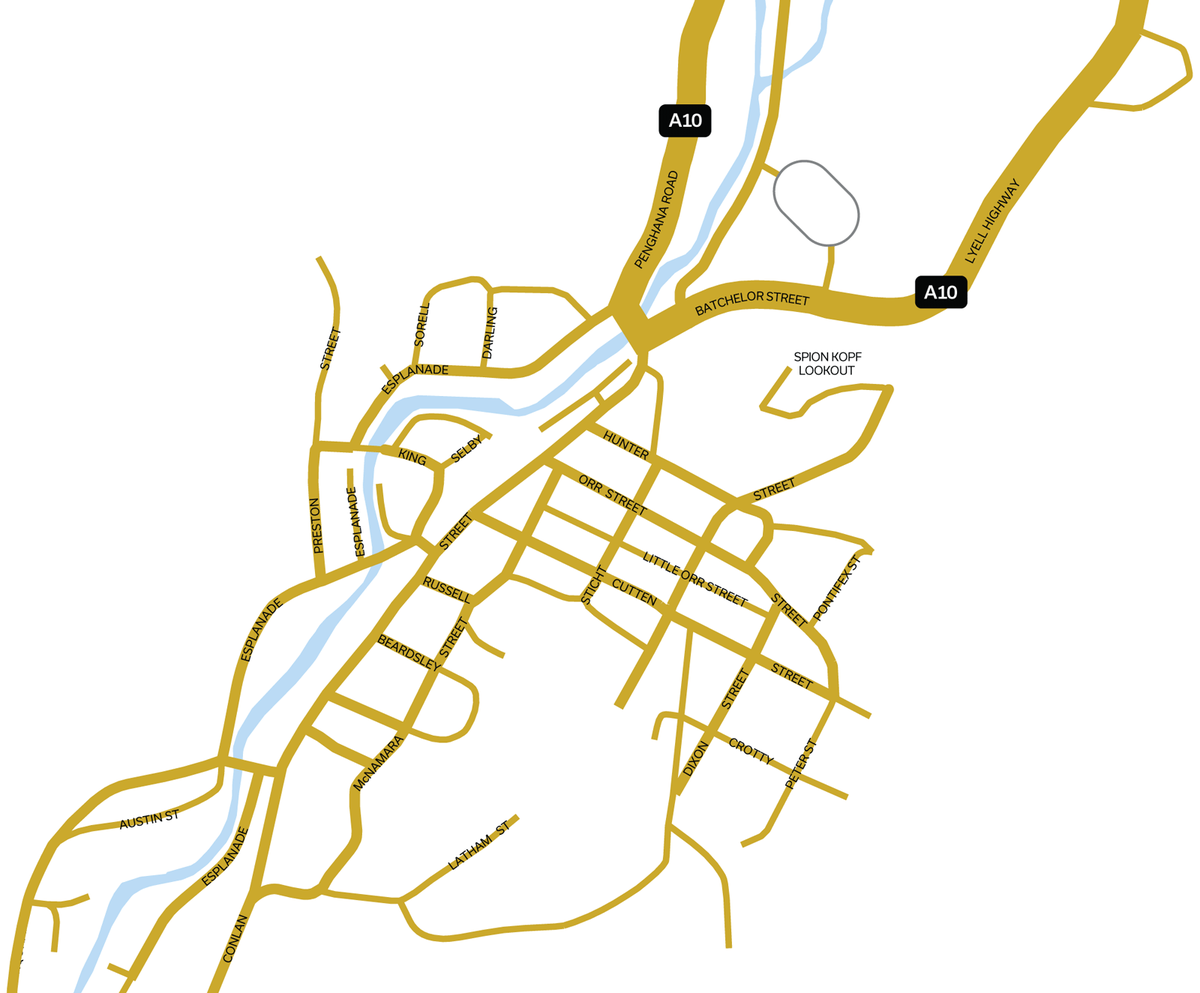 Queenstown Map
