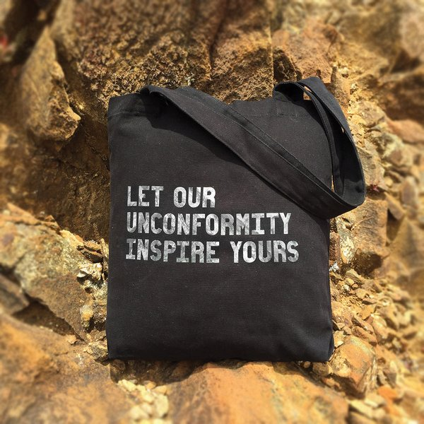 The Unconformity Tote bag
