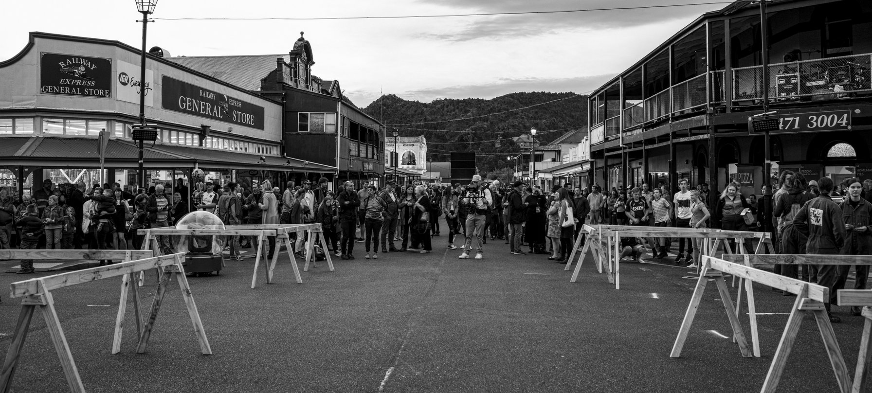 Crowds at The Unconformity 2018